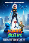 Monsters vs Aliens, Poster