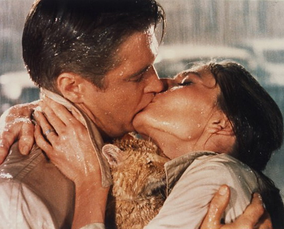 Breakfast at Tiffany's, Photograph 02, George Peppard, Audrey Hepburn