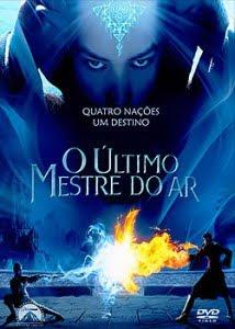 Filme Poster O Último Mestre do Ar DVDRip RMVB Legendado