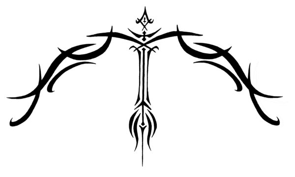 Most Sagittarius tattoos are a variation either on the centaur holding a bow