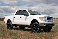 Performance Accessories' Premium Lift System for the 2009 Ford F-150 (part#PLS709)