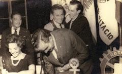 Jantar do Rotary, anos 60
