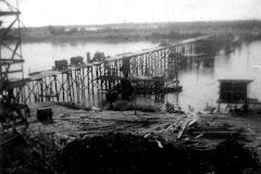 Construção da Ponte, anos 50