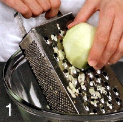 Как испечь яблочные кексы (шаг 1)