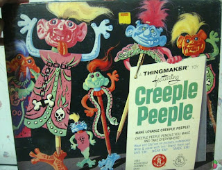Creeple People and Creepy crawlers