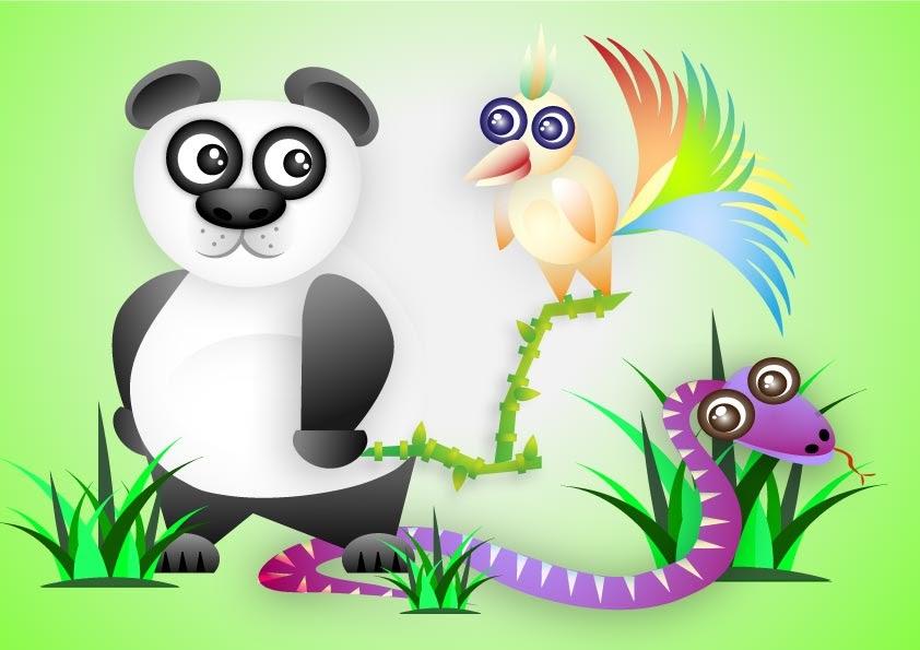 Curso de dise o gr fico oso panda for Curso de diseno grafico