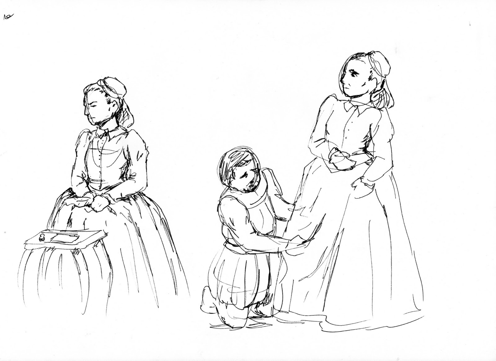 Free mary and elizabeth coloring pages for Mary visits elizabeth coloring page