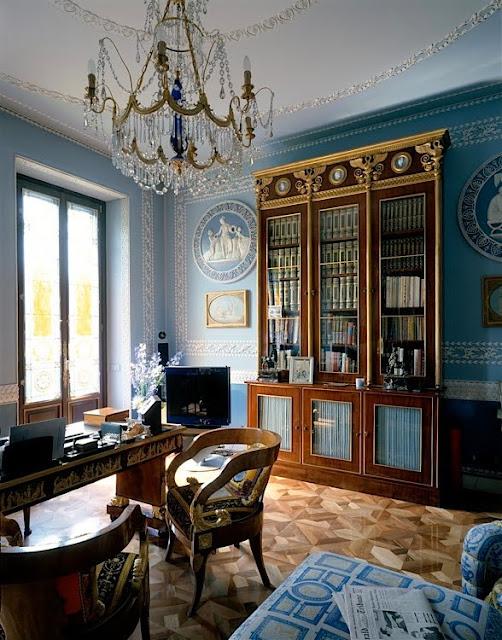 Donatella Versace's House - Parquet Flooring Panels