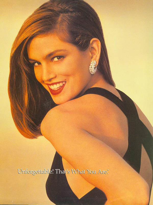 cindy crawford photos as a young model