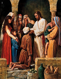 Jesucristo realiza actos de Benevolencia