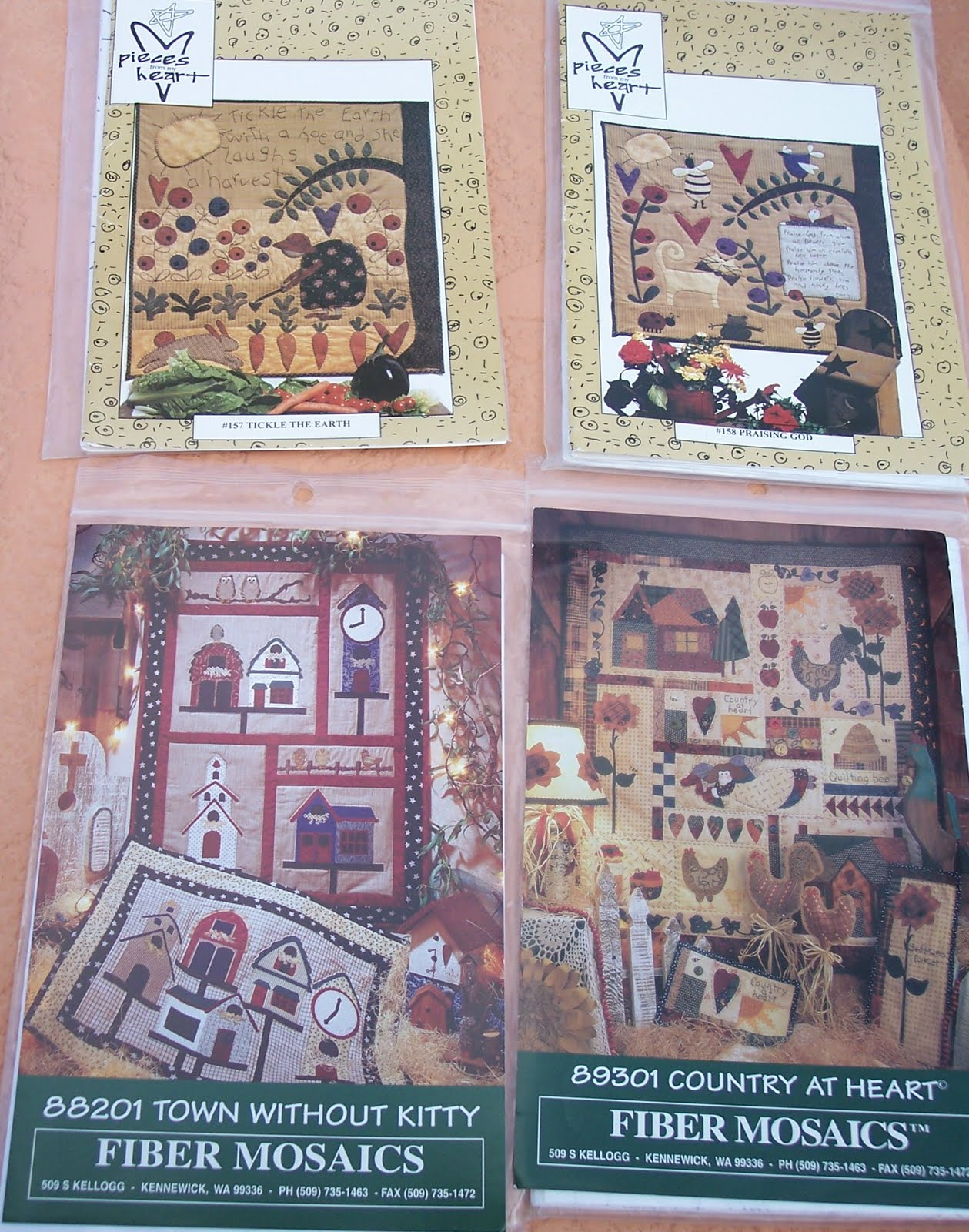 Folk Quilt Patterns - Pattern Collections