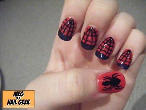 021 spider man meg is a nail geek prinsesfo Choice Image