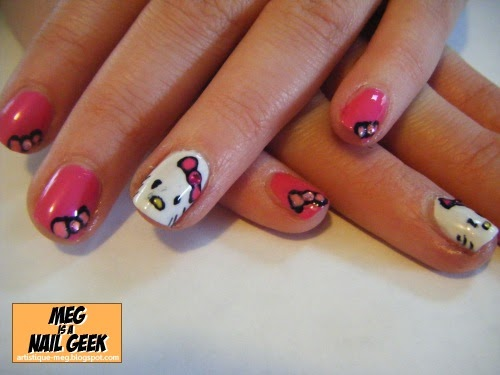 025 Hello Kitty Bows | Meg Is A Nail Geek