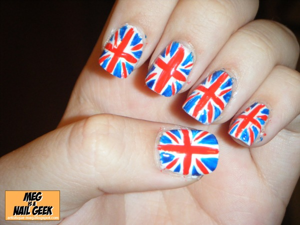 The Fascinating Cute blue nail art designs Photo