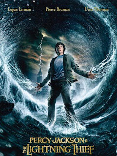 Percy Jackson and the Lightening Thief - Movie Poster