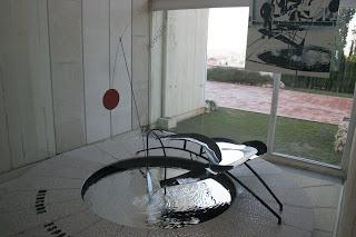 Mercury Fountain at Foundation Joan Miro in Barcelona