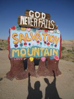 Salvation Mountain - God Never Fails