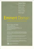 Eminent Domain Exhibition