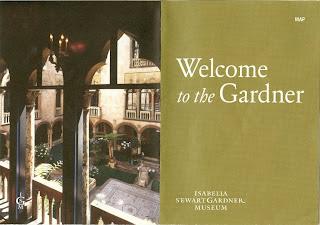 Isabella Stewart Gardner Museum Brochure