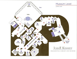 JFK Library Floor Plan