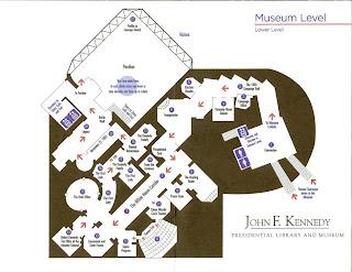 JFK Library Floor Plan