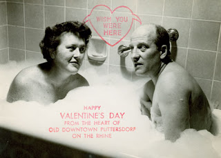 Julia and Paul Child in a Bathtub