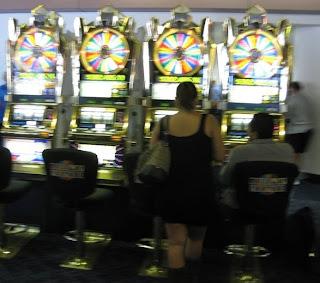 Gambling in the Las Vegas Airport