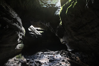 Ape Cave Upper Entrance