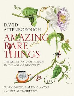 Amazing Rare Things - David Attenborough Book Cover