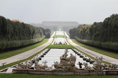 The Reggia di Caserta Money Shot - Big Fountain