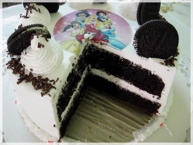 Resepi American Chocolate Cake