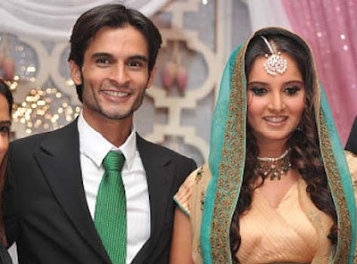 Sania Mirza and Mohamd Sohrab Pre-wedding function stills