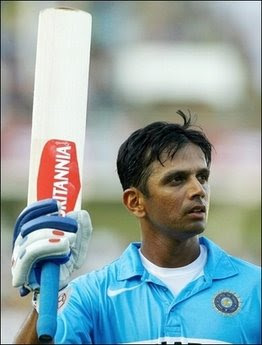 Indian Cricket Team player Dravid