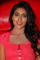 Shreya in red colour excellent dress pics