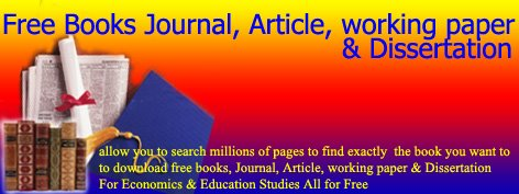 Free Books, Journal, Article, Working Paper & Disertation
