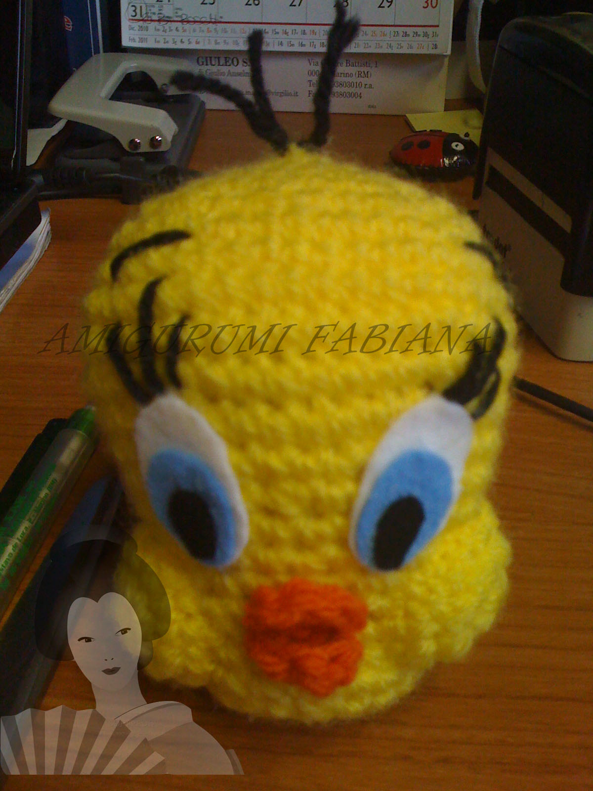 Amigurumi Tweety Bird : Bunny * Silvestro * Titti on Pinterest Tweety, Bugs ...