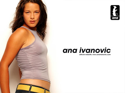 Ana Ivanovic Hot & Cute Wallpapers