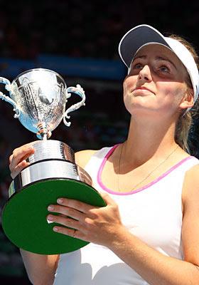 Ksenia Pervak of Russia
