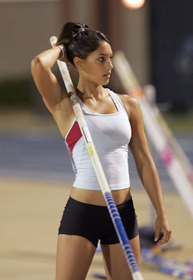 Pole Vaulter Alisson Stokke Photo Gallery
