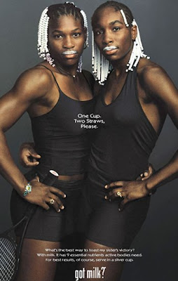 tennis stars Venus and Serena Williams
