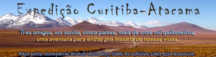 Expedição Curitiba-BR | Atacama-CH