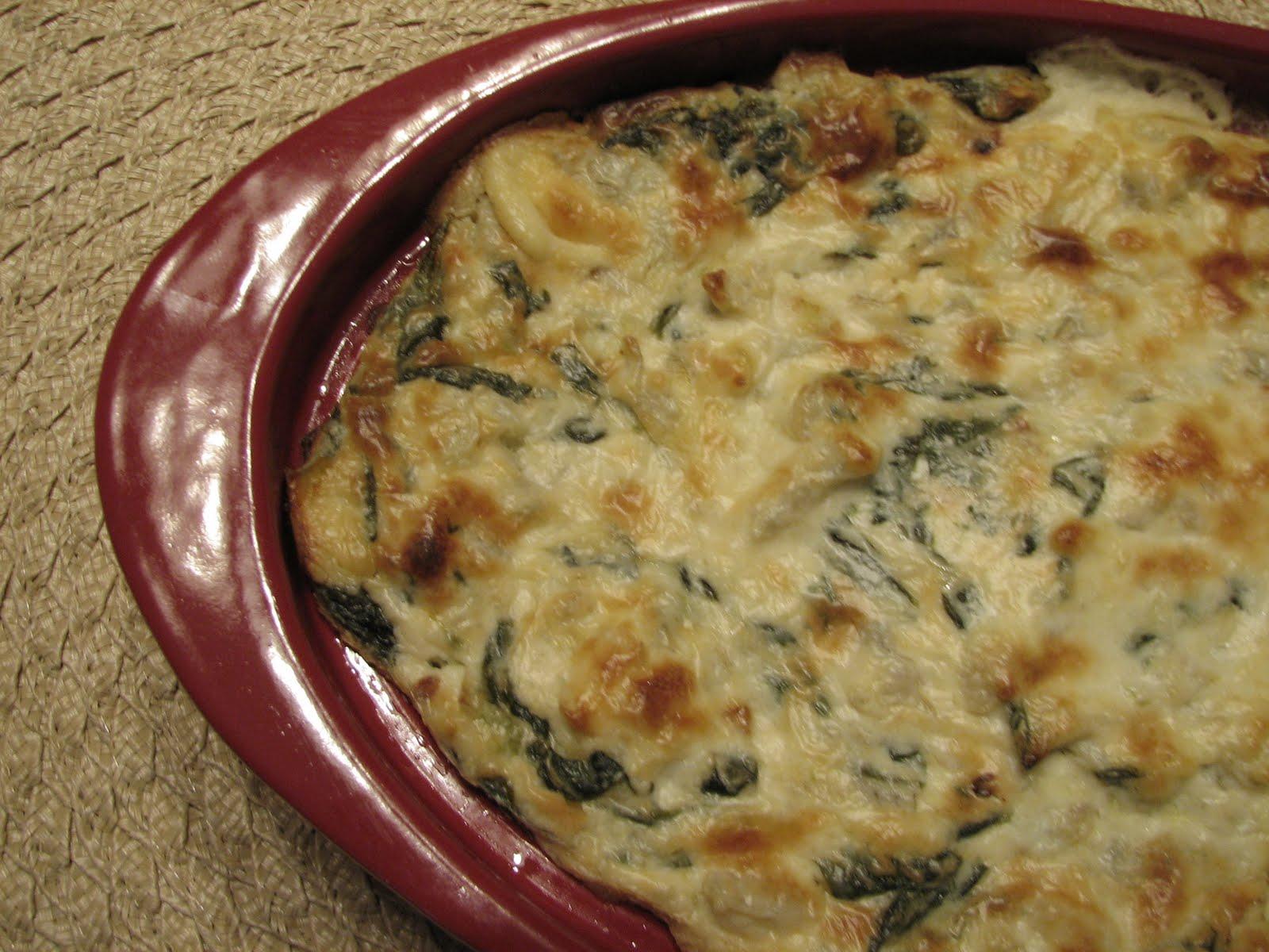 Lynda's Recipe Box: Spinach and Artichoke Dip