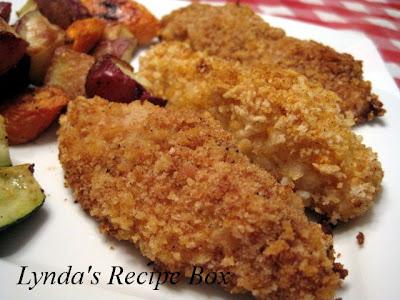 Lynda's Recipe Box: Homemade Baked Chicken Strips