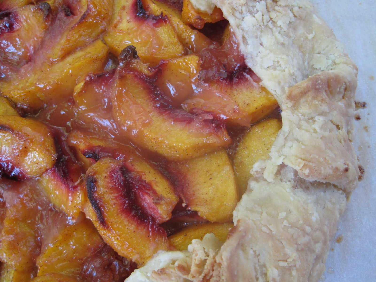 Lynda's Recipe Box: Peach Galette