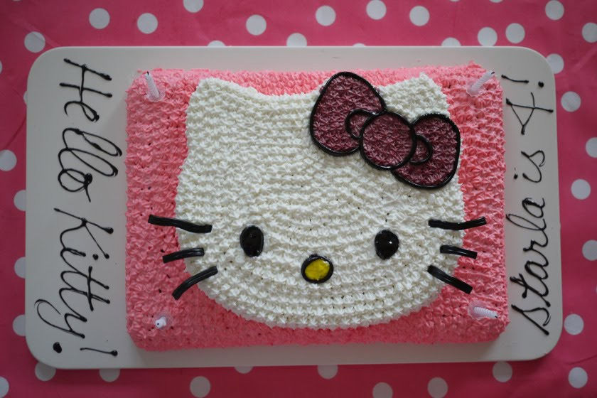 Hello Kitty Cake Template - 2018 images  pictures - Hello Kitty