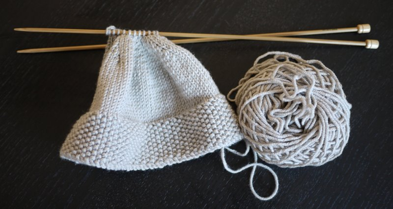 How To Knit Baby Booties With Circular Needles