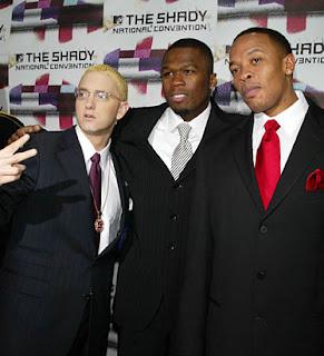 Eminem, Dr Dre and 50 Cent Crack a Bottle MP3