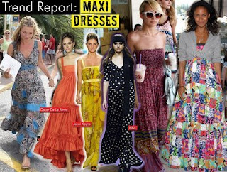 The Celebrities Maxi Dress