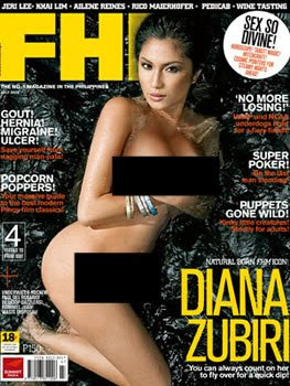 hot celebrity diana zubiri