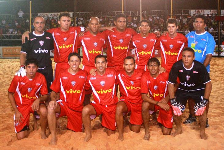 CAMPEONATO BRASILEIRO DE BEACH SOCCER 2008 - SELEÇÃO DO ESTADO DO MARANHÃO CAMPEÃ DO BRASIL EM 2008